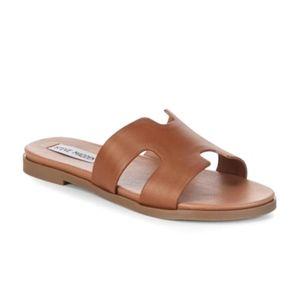 NWOT Steve Madden Dariella Slide Sandals Brown 6.5